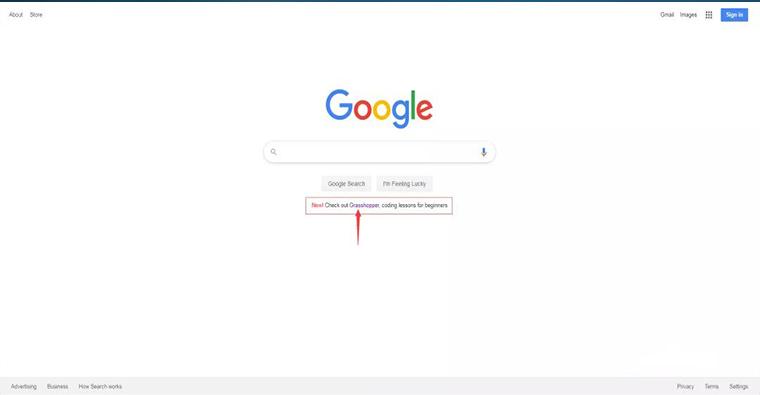 大名鼎鼎的google竟然给它(grasshopper)打广告