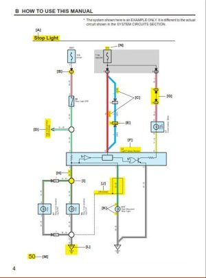 Jual Electrical Wiring Diagram TOYOTA FORTUNER di lapak