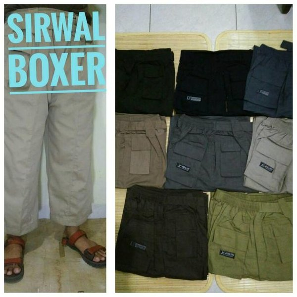 SALE. New Arrival celana sirwal boxer L dan XL Harga Murah