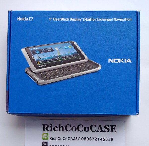 Nokia E7 Communicator NOS New Old Stock HP Jadul Langka