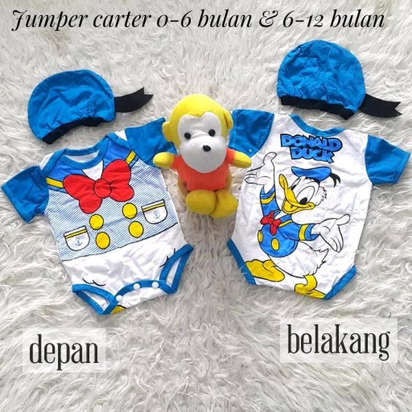 jumper carter bayi karakter donald duck
