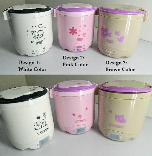 Rice Cooker Mini Hello Kitty 2 Susun Kity Nasi Bubur