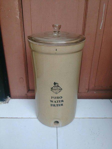 Pajangan antik royal doulton england porcelain water dispenser