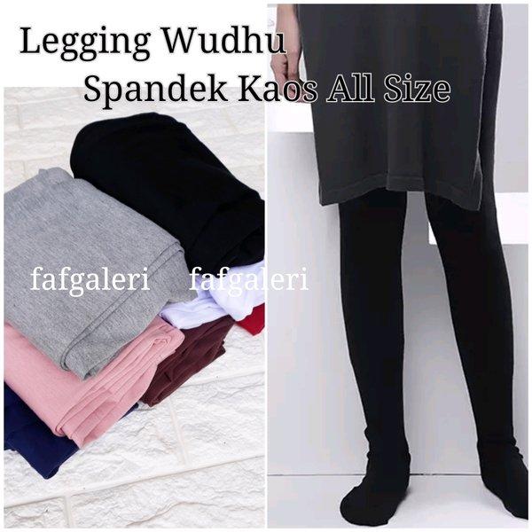 TERLARIS Legging Wudhu Bahan Kaos Ukuran standar Harga murah Grosir