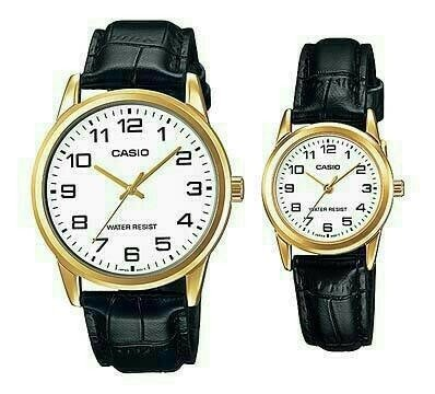 Jam Tangan Casio Original Couple ML-V001GL-7B