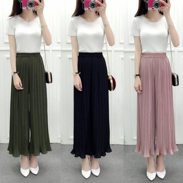 Trendy Kulot Celana Panjang Besar Big Size Wanita Slim Berkualitas