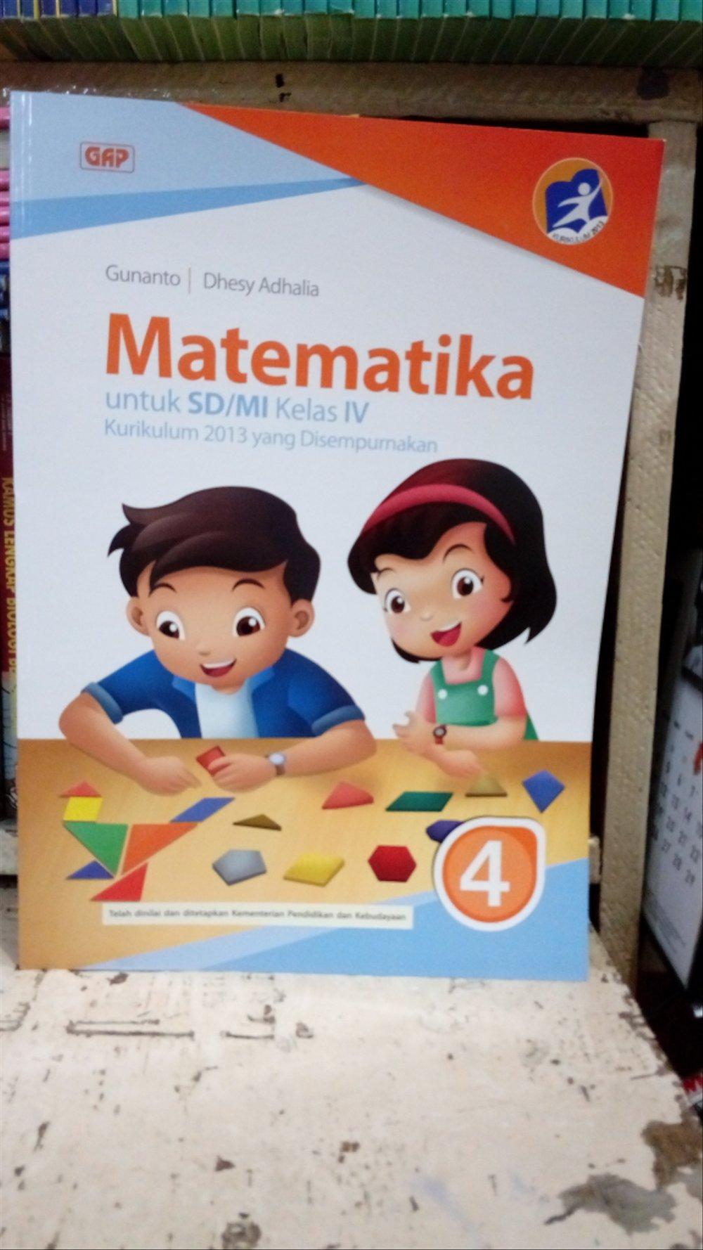 16/06/2021· buku esps matematika sd mi kelas 5 k2013 erlangga kunci jawaban buku senang belajar matematika kelas 5 pembahasan matematika esps kelas 5 kecepatan dan debit. Buku Erlangga Kelas 4 Sd Kurikulum 2013 - Dunia Sekolah ID