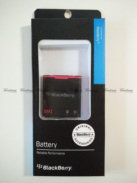 Baterai Blackberry Apollo 9360 EM1 Original OEM Batre Battery Batu Batrai Curve
