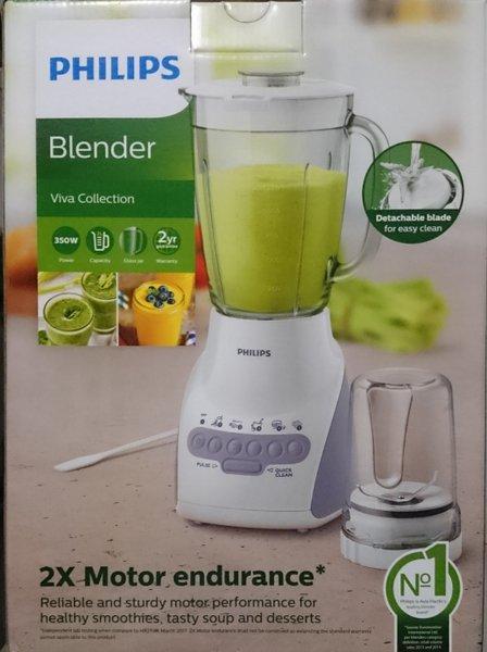 New BLENDER PHILIPS HR 2116 TANGO BELING GLASS HR 2116
