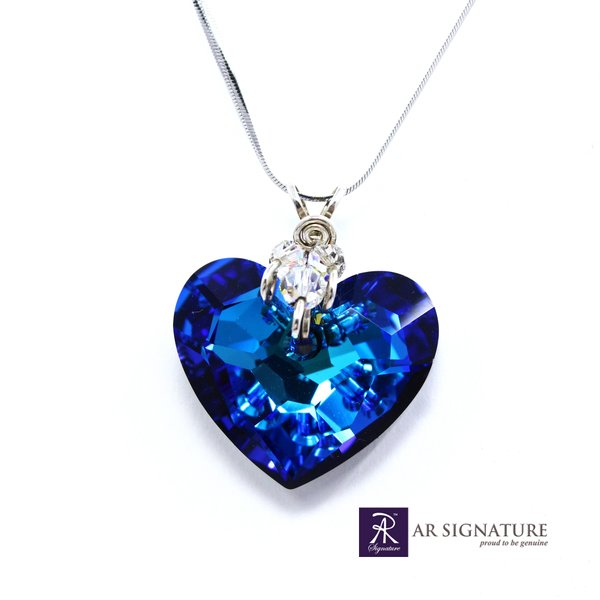 Perhiasan Liontin Kalung Swarovski - Truly in Love Medium Pendant