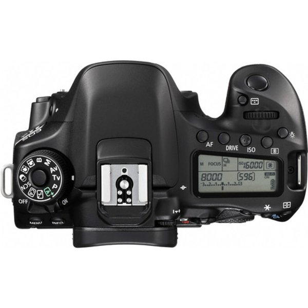 kamera DSLR Canon EOS 80D Body Only Datascript paling