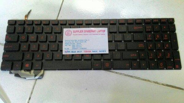 Aksesoris Laptop Keyboard ORIGINAL Asus ROG GL552 GL552JX GL552VW GL552VX