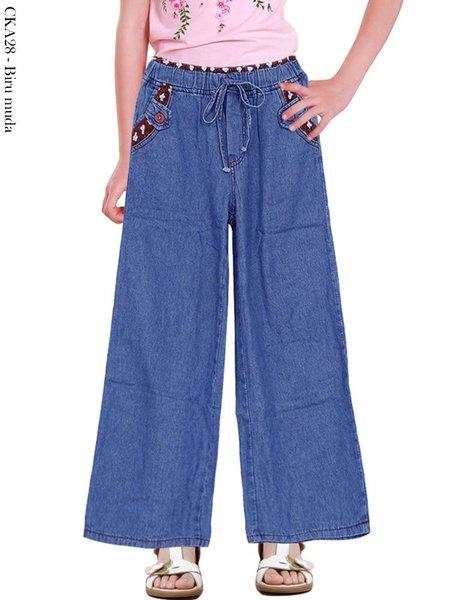 Celana Kulot Jeans Anak CKA28