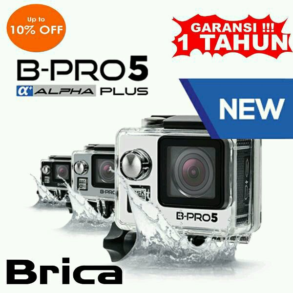 Brica B-PRO 5 ALPHA Plus Edition Version 2 Full HD Action Camera New - GoPro Hero Xiaomi Yi SJCAM Kogan Killer