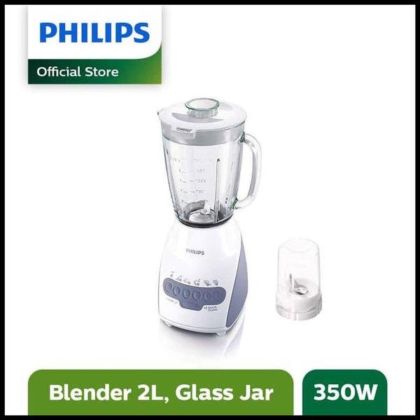 GROSIR. - PHILIPS BLENDER GELAS BELING 2L - ABU - HR2116.00 --- BLENDER & JUICER LUCU