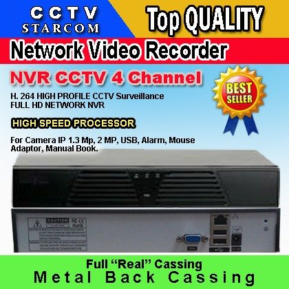 STARCOM CCTV NVR 4 Channel
