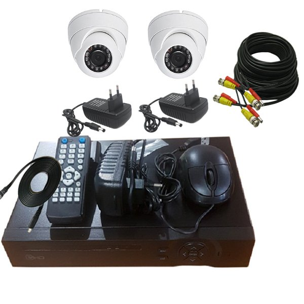 PROMO PAKET CCTV 2 CAMERA IN 2MP - DVR 4CHANEL