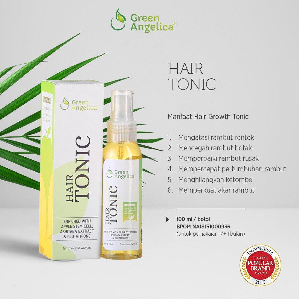 Penumbuh Rambut Di Jidat Yang Lebar Hair Tonic Green Angelica