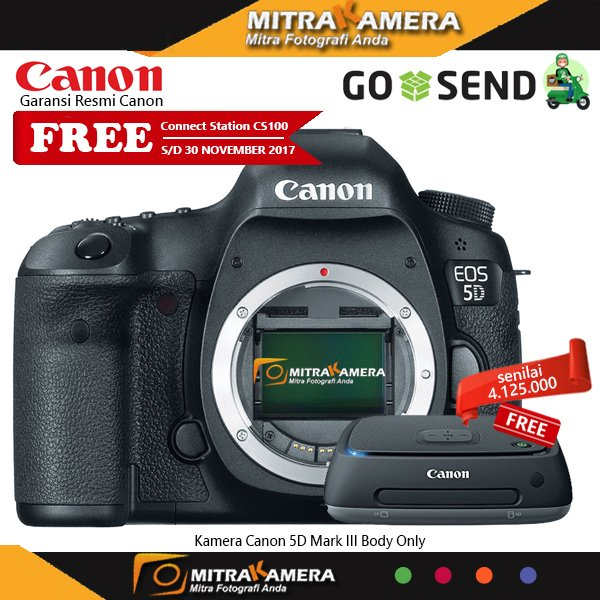 Kamera Canon 5D Mark III Body Only