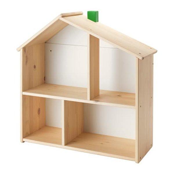 IKEA FLISAT Rumah boneka rak dinding