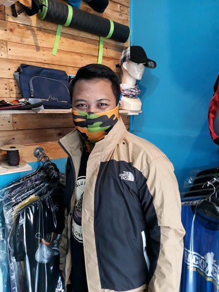 Jaket outdoor gunung hiking tnf no consina eiger avtech