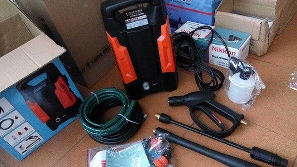 Mesin Cuci Motor Mobil Portabel Jet Cleaner Lakoni Laguna Watt Kecil 550w