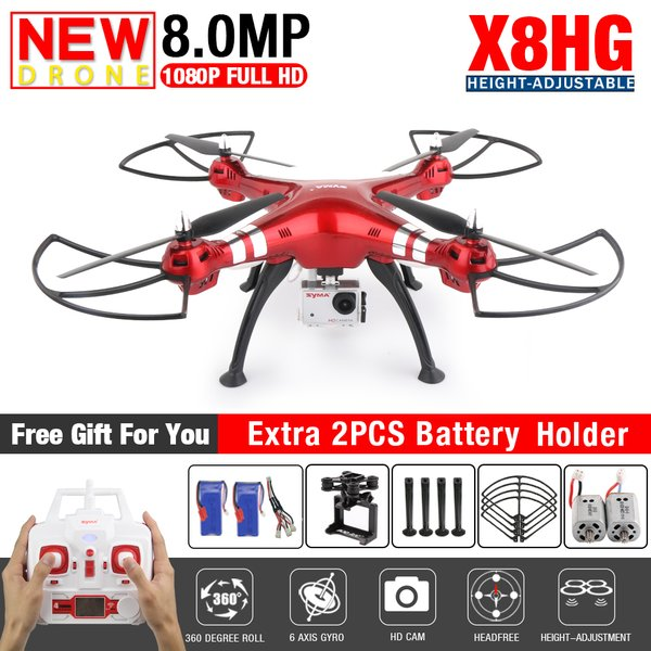 Syma X8HG With 8MP HD Camera Bisa Angkat kamera action cam xiaomi yi kogan b pro sjcam dll