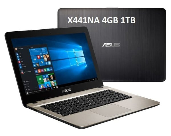 Termurah - ASUS LAPTOP X441NA N3350 4GB 1TB 14 WIND10 ORIGINAL