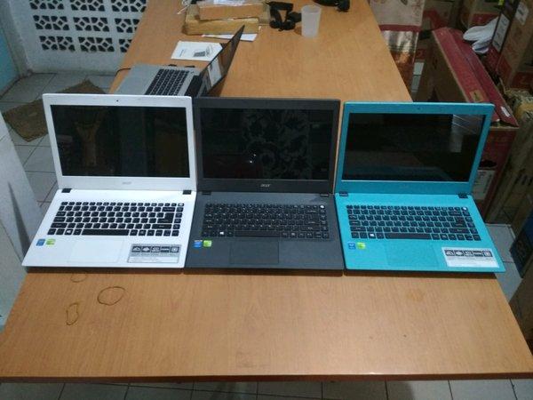 Laptop Acer aspire E5-473G gaming broadwell mulus nolecet nominus. layaknya beli laptop baru