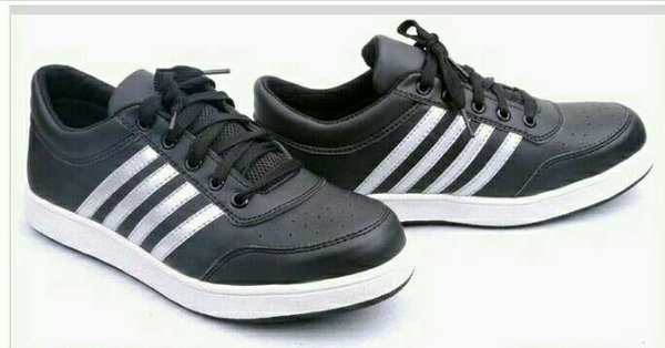 sepatu safety import adidas strip