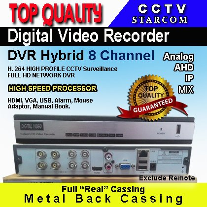 Bagus STARCOM CCTV DVR 8 CHANNEL