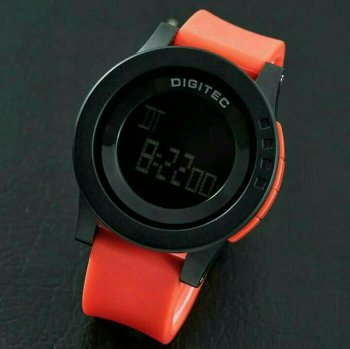 Jam Tangan Digitec 3037 Black red Jam Tangan Original Jam Tangan anti Air Bergaransi