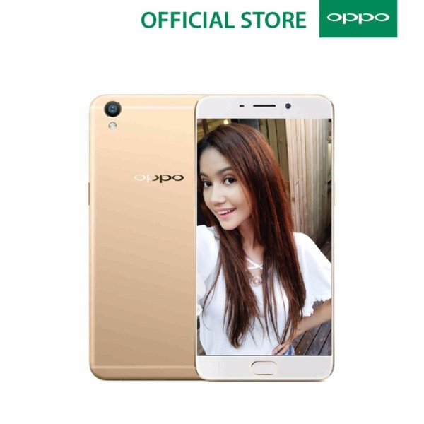 Oppo A37 Beauty Camera   2 16GB   Gold   Kamera Depan 8MP