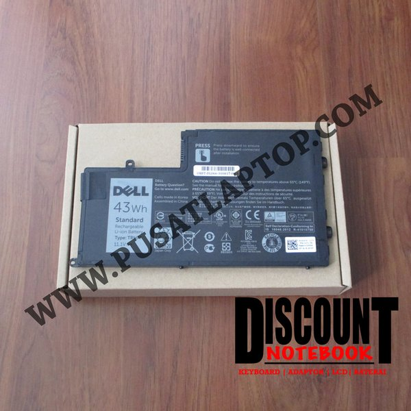 Ready Stock - Baterai DELL Inspiron 14-5442 5447 5448 15-5547 TRHFF 4 CELL