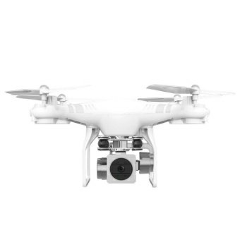 DRONE TEBARU 2017 - 2018 Dengan Lensa Kamera Wide Angle wifi Fpv - White Mirip dji phantom 3