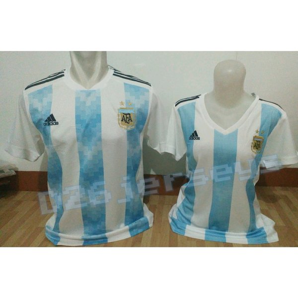 Jersey COUPLE Argentina Home Piala Dunia 2018 OFFICIAL