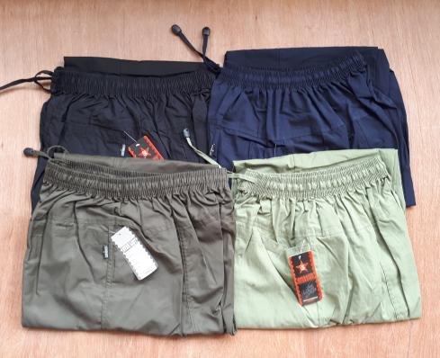Celana Panjang Cargo katun Pangsi . Sirwal JUMBO -JPP001 . JK