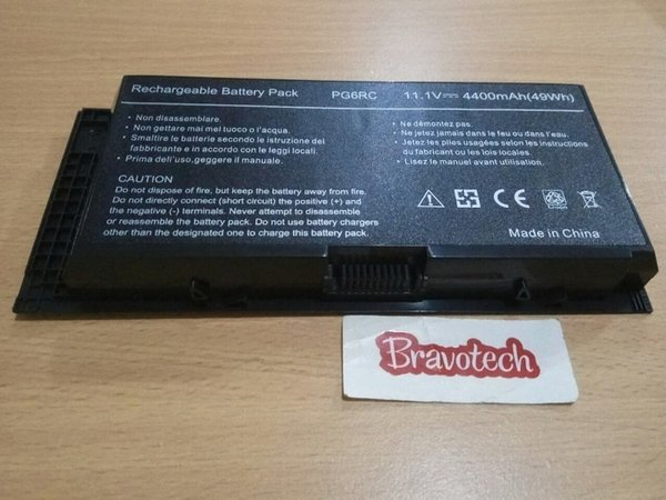 Hot Offer Replacement Laptop Battery Dell Precision M4600 M4700 M4800 M6600 Termurah