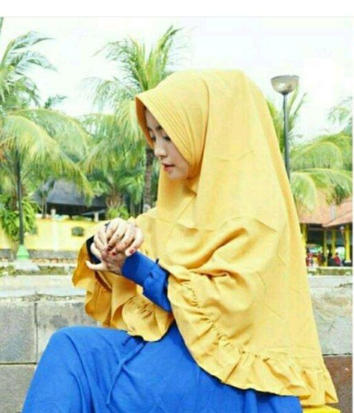 Gambar Untuk Hijab Khimar Pet Rempel Jumbo
