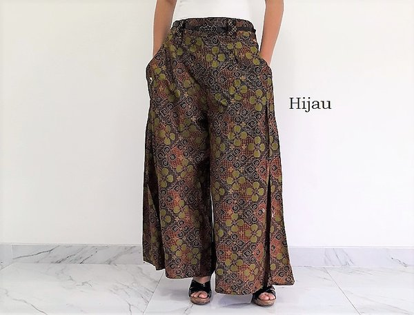 Celana Batik Kulot Panjang Ratania
