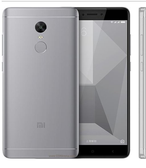 Xiaomi Redmi Note 4X 64 GB - Grey
