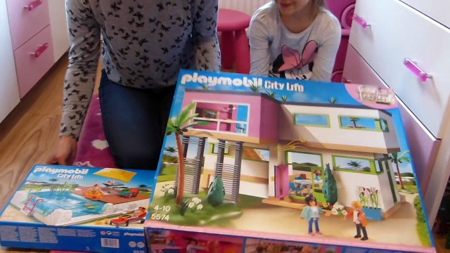 playmobil city life haus maison moderne luxusvilla 5574