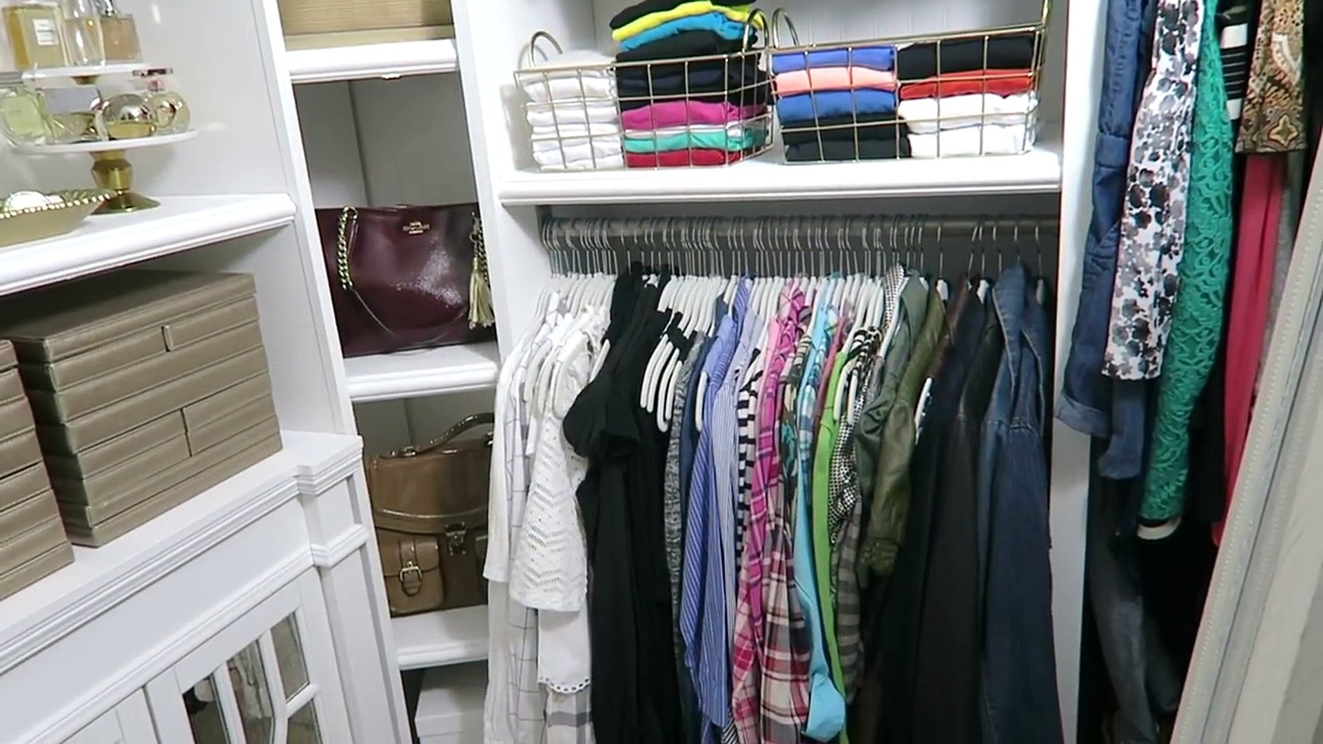 Home Organization Master Closet Organization Tips Tour