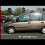 1999 Fiat Multipla Review Video Dailymotion