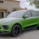 Porsche Macan Design In Mamba Green Video Dailymotion