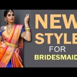 How To Drape Pattu Saree In Modern Style Cancan Saree Fusion Trends Video Dailymotion