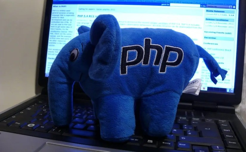PHP Elephant by scaldra2 from https://www.flickr.com/photos/7237499@N02/6458472309/sizes/l/. Used under a Creative Commons Attribution-NonCommercial-NoDerivs 2.0 Generic (CC BY-NC-ND 2.0) license.