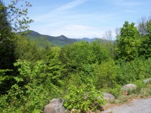 From the first scenic view on Bear Notch Road