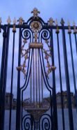 Gate at the Château de Versailles