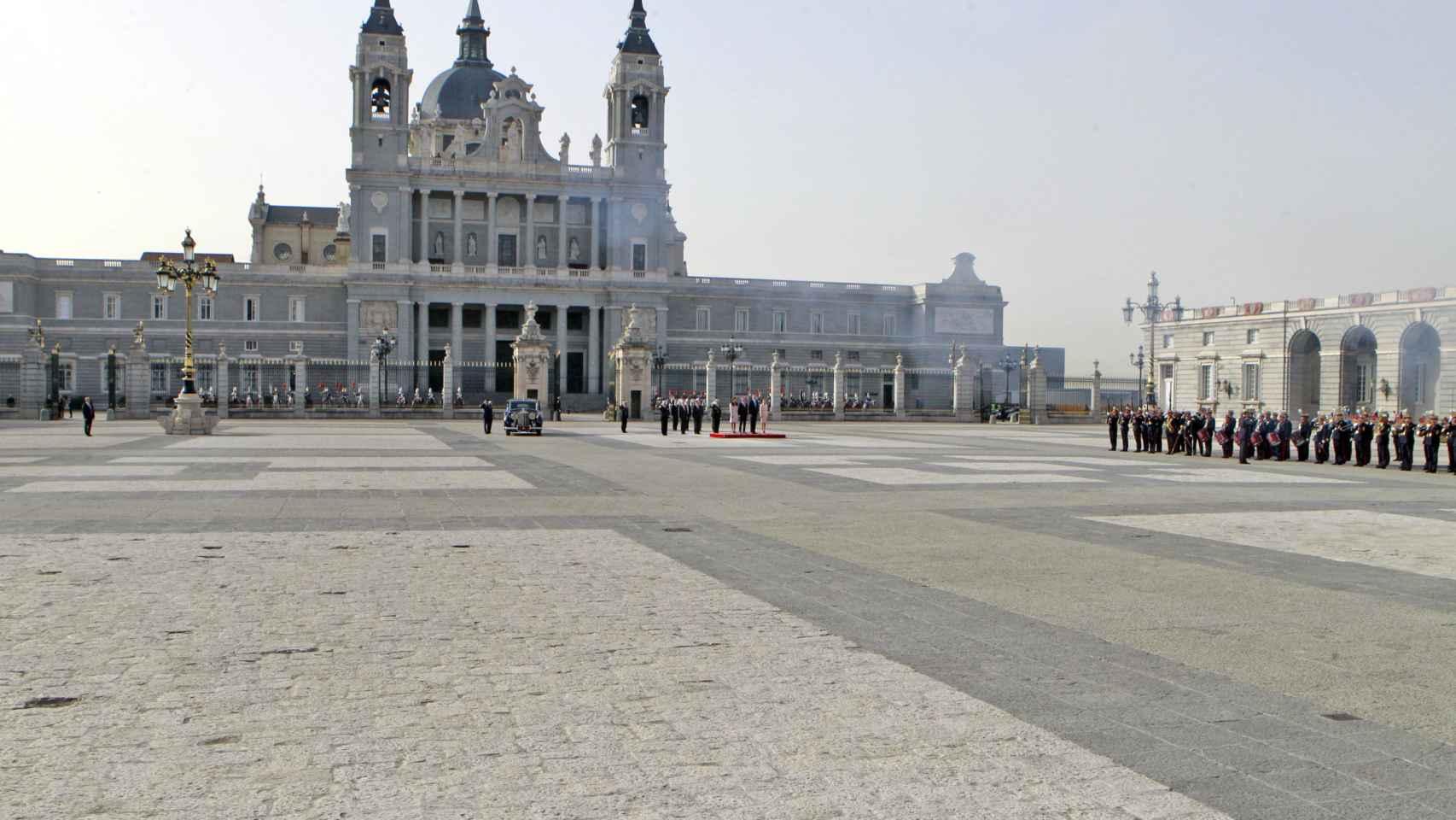 Imagen del Palacio Real donde ha tenido lugar el encuentro.